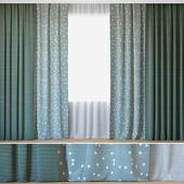 Curtains 43 | Curtains with Tulle | Novum and Ottoman Triangles