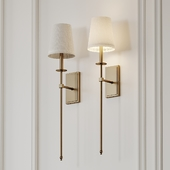 Tyrone 1-Light Wallchiere Wall Sconce