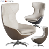 Caruzzo swivel armchair