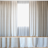 Curtains 44 | Curtains with Tulle | Rebbio Grande