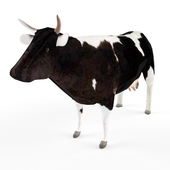Cow low poly