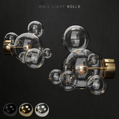 Wall light Giopato and Coombes Bolle 6 lamps