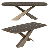 Riflessi living dining table