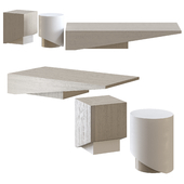 KAI & KOBE Side & Coffee Table by Piet Boon