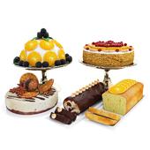 Orange cake collection 5