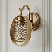Salyers 1-Light Armed Sconce by Wrought Studio