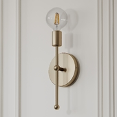 Bautista 1-Light Armed Sconce by Willa Arlo Interiors