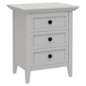 Dantone Home Bedside table Junior with 3 drawers