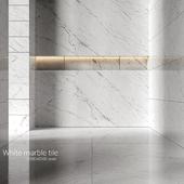 White marble tiles 5