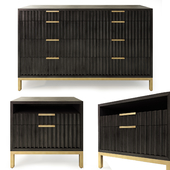 Chest and nightstand Holford. Dresser, nightstand by Joss and Main