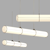 Endless Straight by Roll & Hill Suspended Lamp |