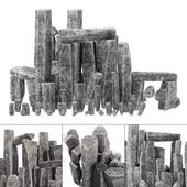 Stone rock blocks