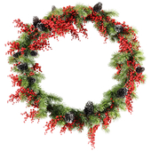 Рождественский венок v3
