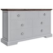 Painted Chest Of Drawers Grey Oak