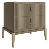 Luxury Italian Designer Bedside Cabinet