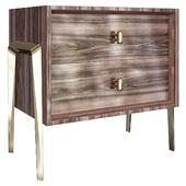 Winsome Bedside Dresser Drawers Table
