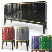 Chest and nightstand Bairo. Sideboard, nightstand by Ambicioni