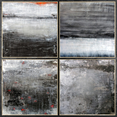 Paintings abstract   set 463