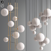Bolle Tela Gallotti And Magic pendant Cluster Ceiling Light 02