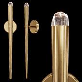 Restoration Hardware AQUITAINE TORCH SCONCE Brass