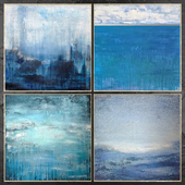Paintings abstract   set 464