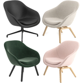 About A Lounge Chairs AAL by HAY