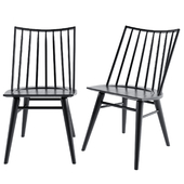 Windsor dining chair Crate and Barrel