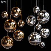 Pendant Light Group Tom Dixon MIRROR BALL FAMILY PENDANT