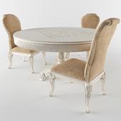 Circle table + chair
