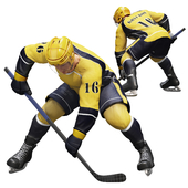Hockey player. Position 2