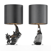 Rhinoceros table lamp