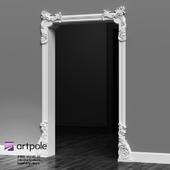 Plaster decorative portal from Artpole