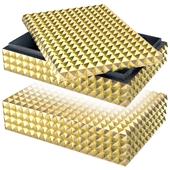Gold Storage Box (L) | Eichholtz vivienne