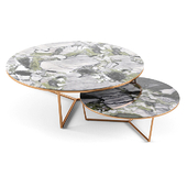 Round marble table coffee