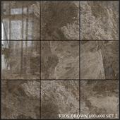 Yurtbay Seramik Kios Brown 600x600 Set 2
