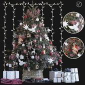 Christmas Tree 6. Vray