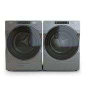whirlpool washer and Dryer with Front Load and Go XL Plus