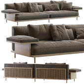 NICHETTO 122 BELLE REEVE SOFA SYSTEM