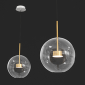 1x30 Suspension Lamp Bolle by Giopato & Coombes