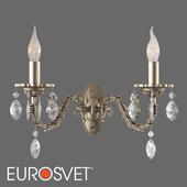 ОМ Классическое бра с хрусталем Eurosvet 10102/2 Favola