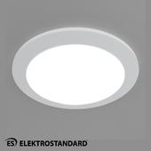 ОМ Встраиваемый потолочный светильник Elektrostandard DLR003 18W 4200K