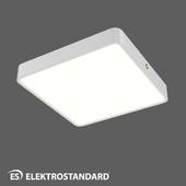 ОМ Накладной потолочный светильник Elektrostandard DLS034 18W 4200K