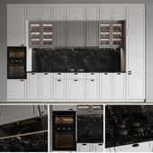 White modern kitchen IKEA Bodbyn