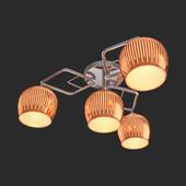 OM Ceiling chandelier Eurosvet 30161/4 chrome Jesse