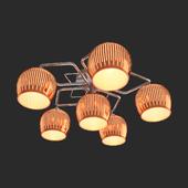 OM Ceiling chandelier Eurosvet 30161/6 Jesse