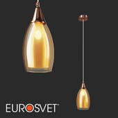 OM Pendant lamp Eurosvet 50085/1 Cosmic Gold