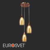 OM Pendant lamp Eurosvet 50085/3 Cosmic Gold