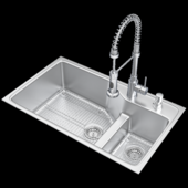 Sink and lux mixer # 10