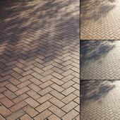 Клинкерная тротуарная плитка Тип 2