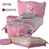 Baby Bed Pink